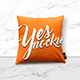 Fabric Pillow Mock up - GraphicRiver Item for Sale