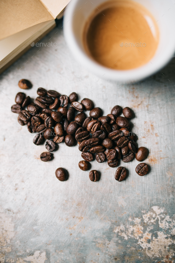 Fresh coffee - Stock Photo - Images