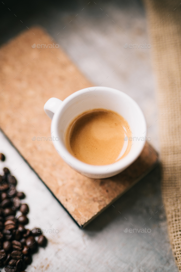 Fresh espresso - Stock Photo - Images