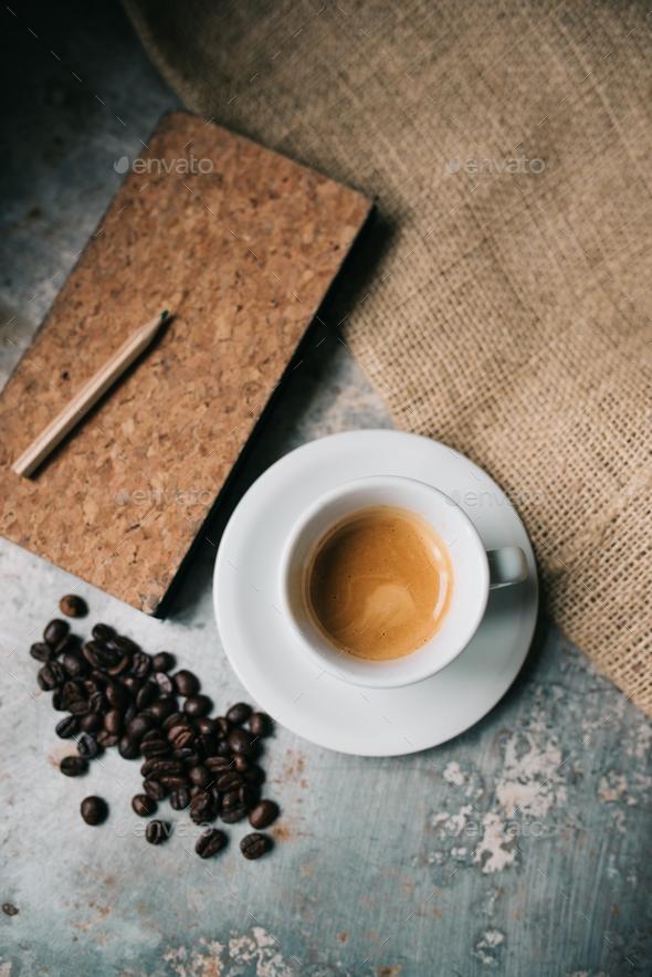 Fresh espresso - Stock Photo - Images