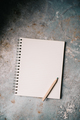 Blank white notepad - PhotoDune Item for Sale