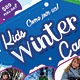 Kids Winter Camp Flyers