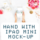 Beauty & Flowers Pad Mini Mockup
