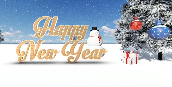 VideoHive Christmas Countdown Opener 21191017