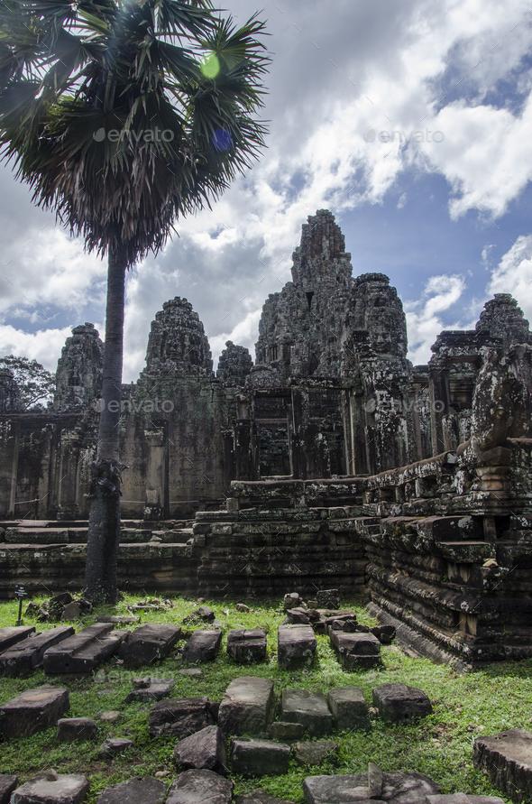 Angkor Thom - Stock Photo - Images
