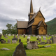 Stave church with graveyard in Norway - PhotoDune Item for Sale
