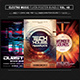 Electro Music Flyer Bundle Vol 48 - GraphicRiver Item for Sale