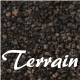 Brown Rock Terrain - Tileable - 3DOcean Item for Sale