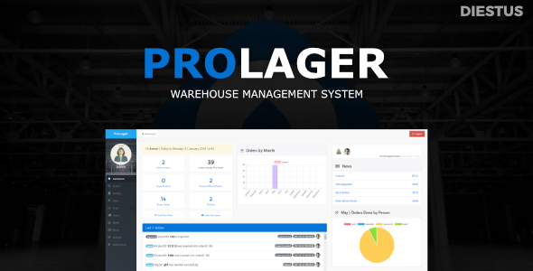 ProLager | Warehouse Manager - CodeCanyon Item for Sale