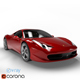 Ferrari 458 Italia (6 Colors) - 3DOcean Item for Sale