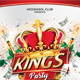 Kings Party Flyer