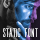 Static Font - GraphicRiver Item for Sale