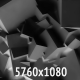Black Structures of Moving Cubes - VideoHive Item for Sale