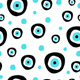 seamless pattern with evil eye - 3DOcean Item for Sale