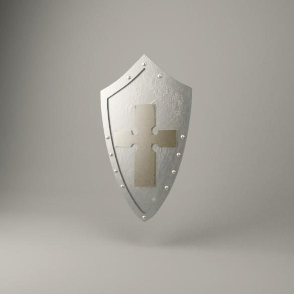 Medieval shield - 3DOcean Item for Sale