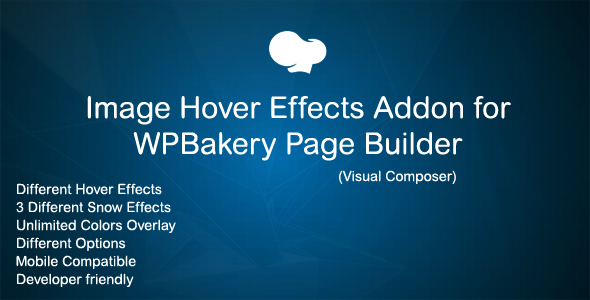 Image Hover Effects Addon for WPBakery Page Builder ( Visual Composer ) - CodeCanyon Item for Sale