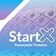 Start X PowerPoint Template