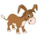 Donkey Vector Illustration