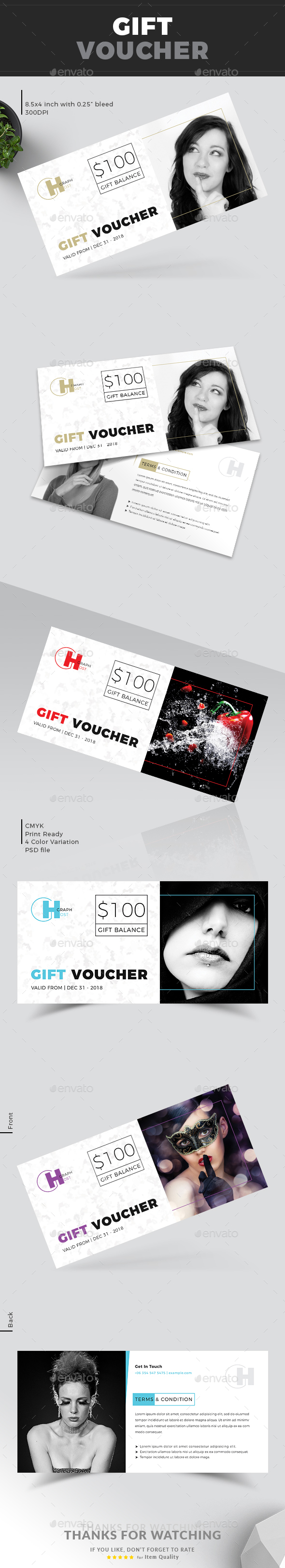 GraphicRiver Gift Voucher 21192501