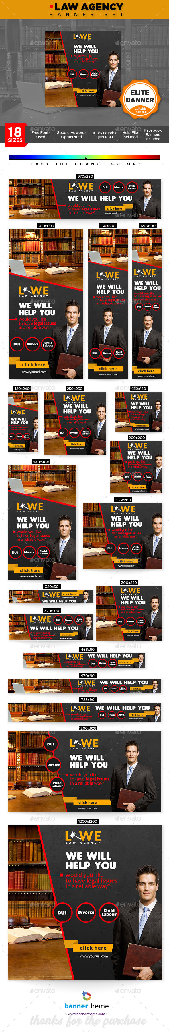 GraphicRiver Law Banner 21192568