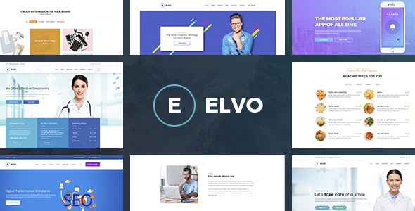 ThemeForest ELVO Business Multipurpose Joomla Template 20926750