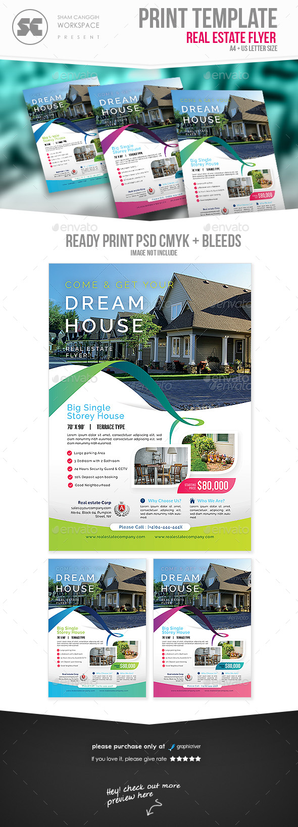 GraphicRiver Real Estate Flyer 21192699
