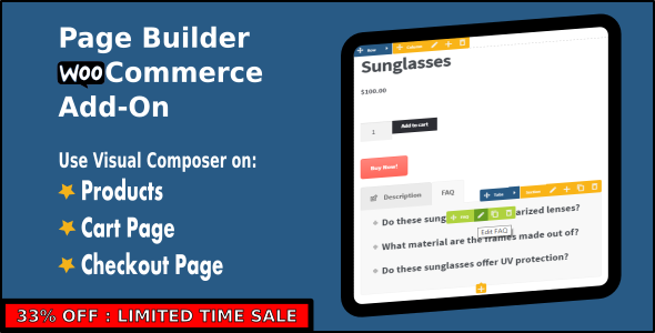 Page Builder (formerly Visual Composer) WooCommerce Add-On - CodeCanyon Item for Sale