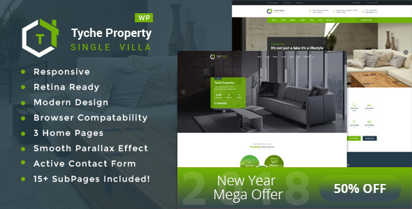 Image of Tyche Properties- Single Property Real Estate WordPress Theme