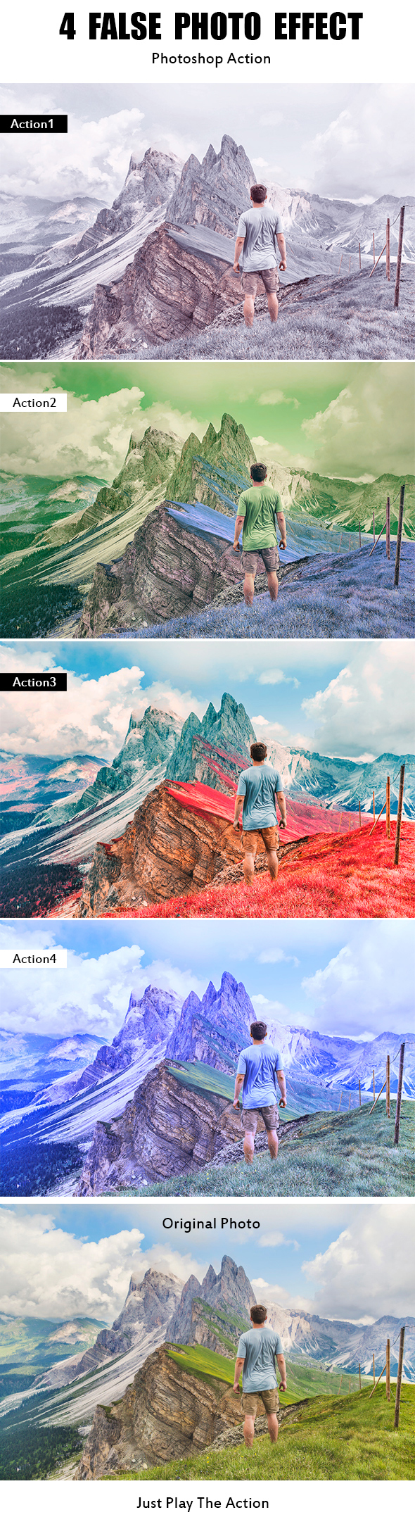 GraphicRiver 4 False Photo Effect 21193134