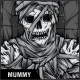 Mummy T-Shirt Design - GraphicRiver Item for Sale