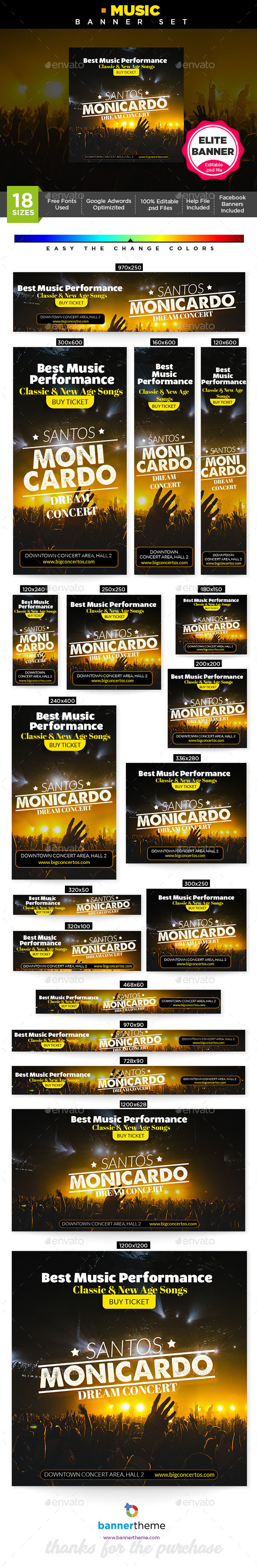 GraphicRiver Music Banner 21193366