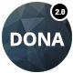 DONA - Creative Multi-Purpose Parallax WordPress Theme - ThemeForest Item for Sale