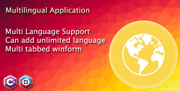 CodeCanyon Multi-language application in C# Multilingual winform 21193832