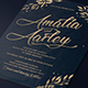 Leaves Wedding Invitation - GraphicRiver Item for Sale