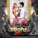Valentine Day Night Flyer - GraphicRiver Item for Sale