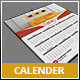 2 in 1 Wall Calender - GraphicRiver Item for Sale