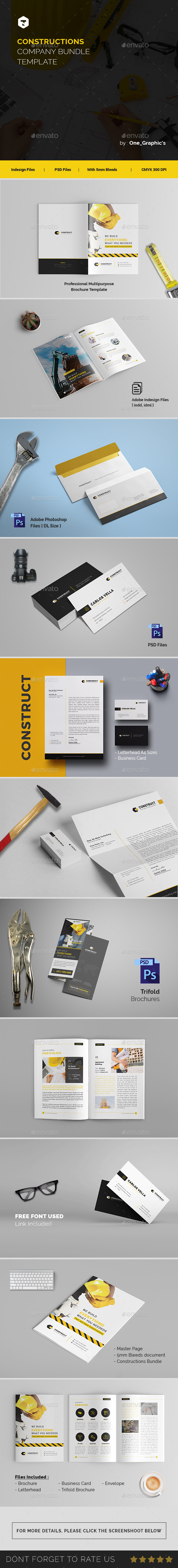 GraphicRiver Construct Corporate Branding Template 21193888