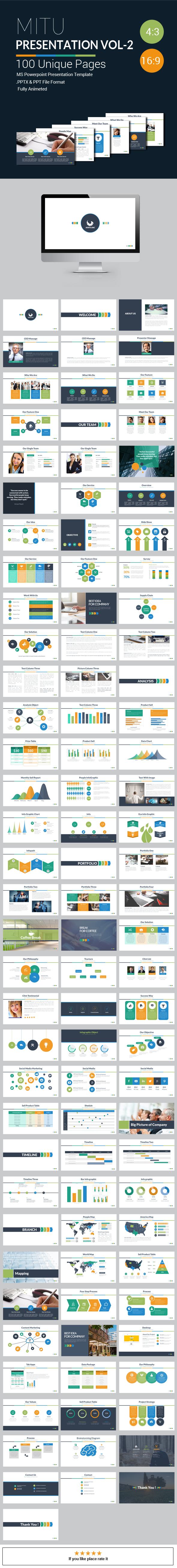 GraphicRiver Mitu Powerpoint Presentation Template Vol 2 21193887