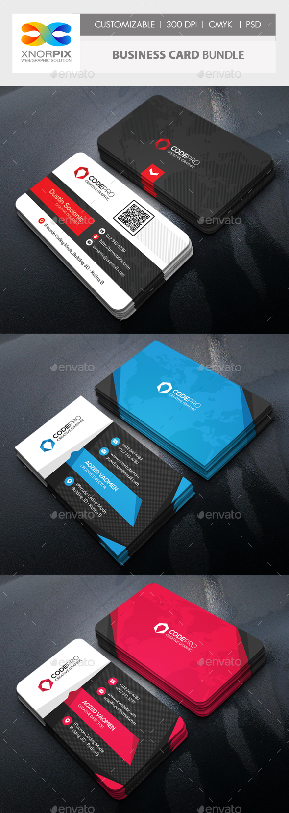 GraphicRiver Business Card Bundle 21193907
