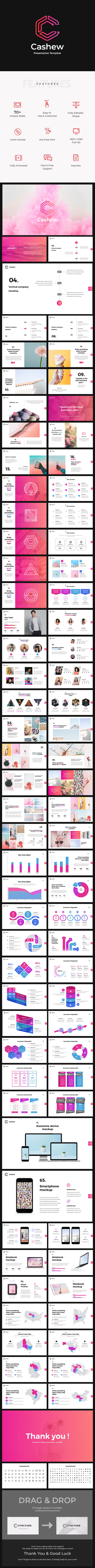 GraphicRiver Cashew Google Slides 21193916