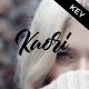 Kaori - Keynote Template