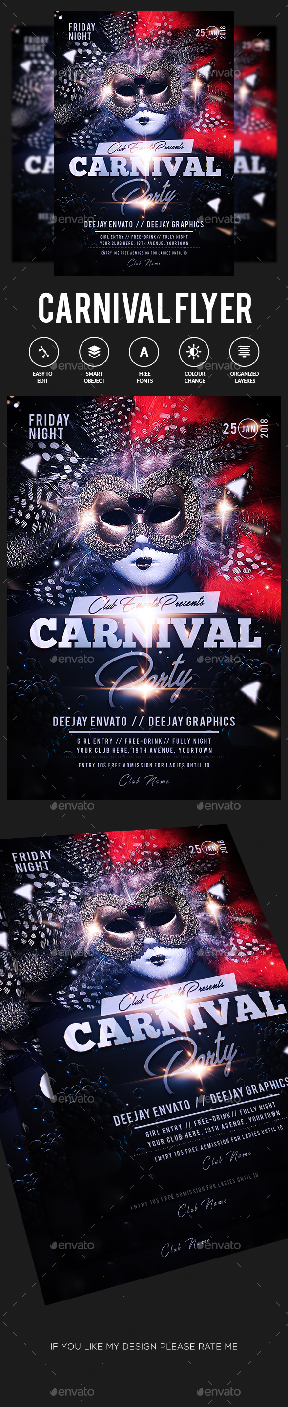 GraphicRiver Carnival Flyer 21193981