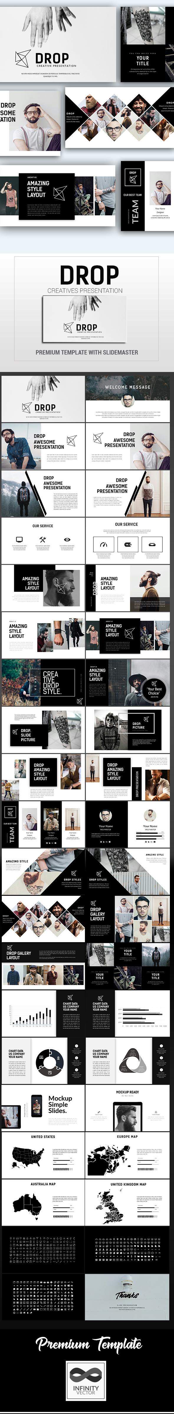 GraphicRiver Drop Creative Presentation 21194071