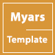 Myars - One Page Parallax - ThemeForest Item for Sale