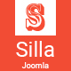 Silla | Responsive Multi-Purpose Joomla Theme With Page Builder