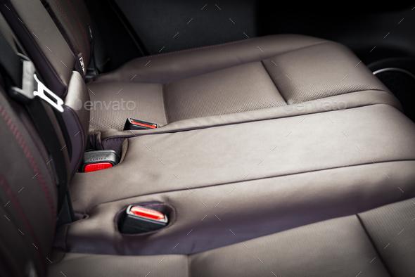 Car seat details - Stock Photo - Images