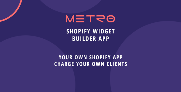 Metro - Shopify App - Filterable Home Widgets & Galleries