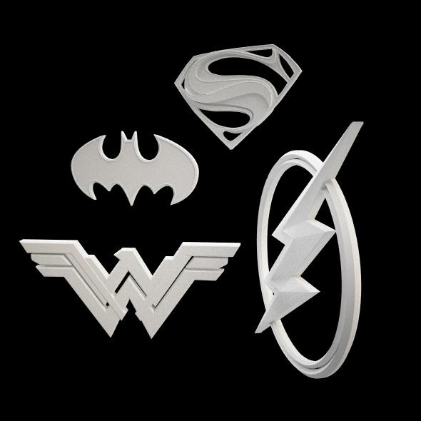 Justice League (2017) - 3DOcean Item for Sale