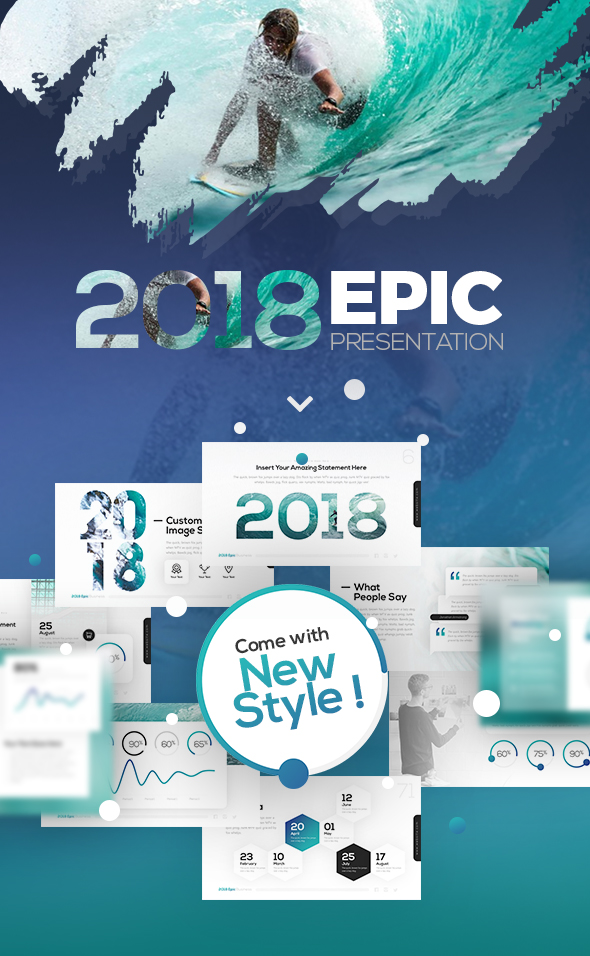 GraphicRiver 2018 Epic Presentation Template 21194302
