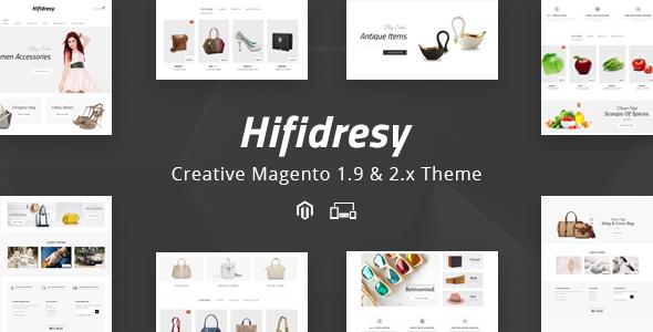 Hifidresy - Responsive Magento 1 & 2 Theme